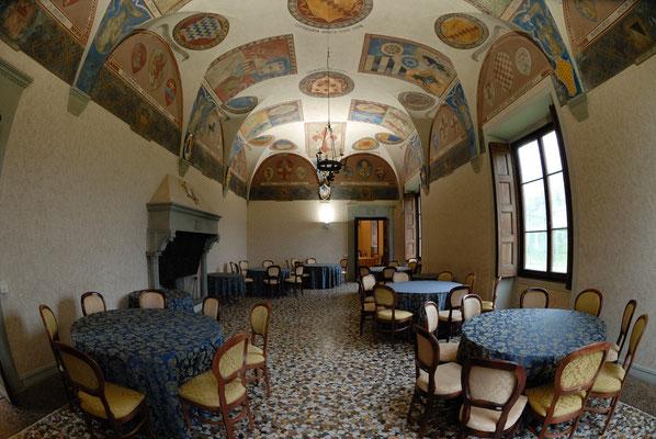 Villa di Cafaggiolo (interno) - Barberino