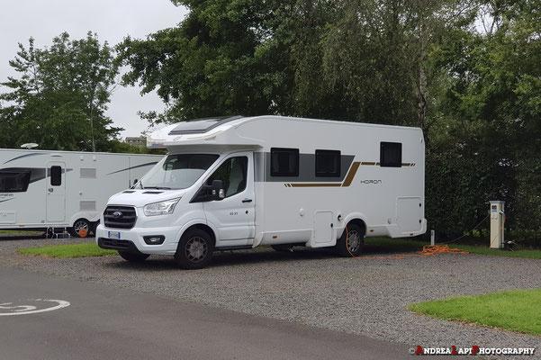 Scozia - Sistemazione nel Camping di Edimburgo