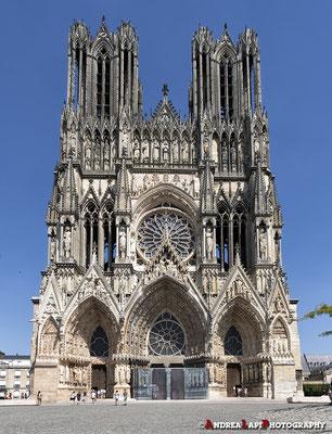 Francia - Reims - La cattedrale