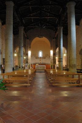 Interno della Pieve di Sant'Agata (Scarperia)