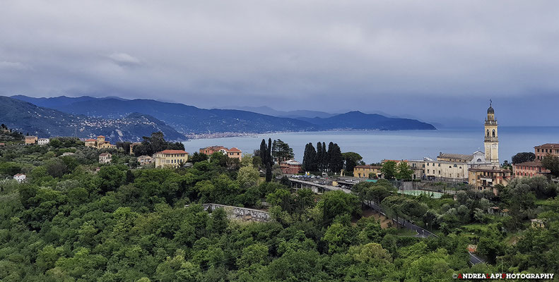 Paesino tra Camogli e Portofino