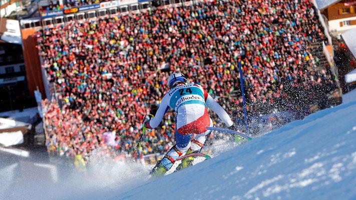 Im Januar ein jährliches Grossevent der Superlative: Der AUDI FIS Skiweltcup am Chuenisbärgli.