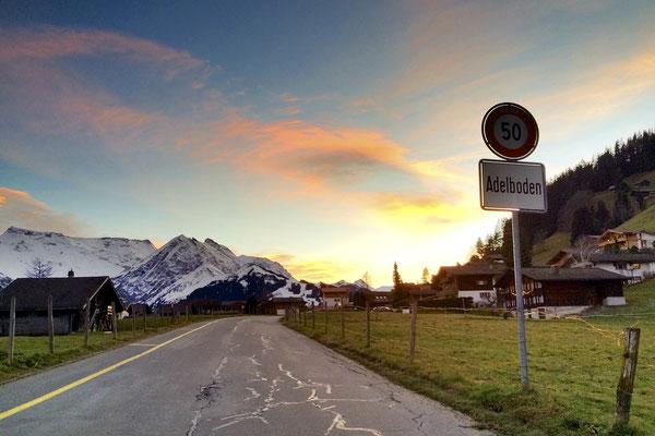Willkommen in Adelboden!<br>© Juerg Hostettler