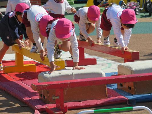 幼児バランストレーニング
