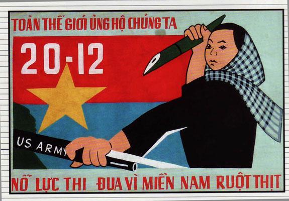 Energischer Kampf für unsere Verwandten im Süden (Huynh Van Gam, 1963)