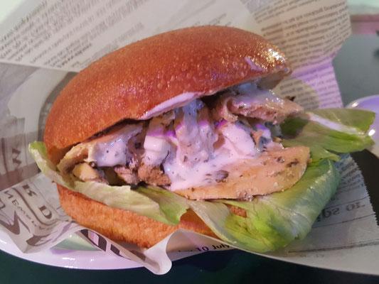 Burger latino El solicito