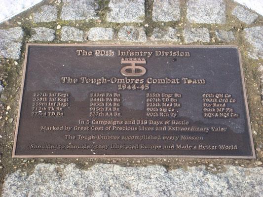 Berlé 90 US Division Monument