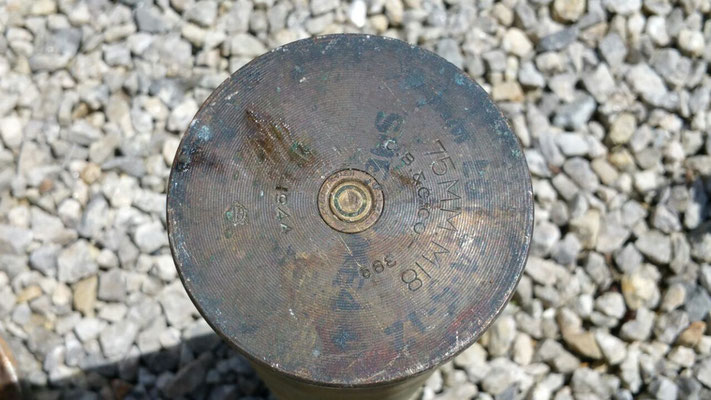 American 75mm Shell