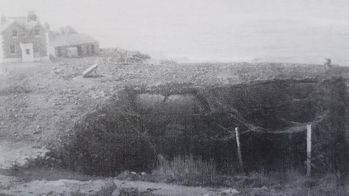 The M19 bunker in May 1944 (photo: Damien Horn collection)