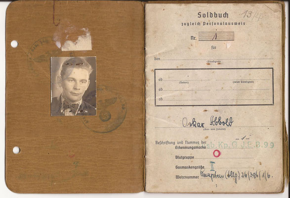 "Oskar Abbold was a soldier in 1./Heeres Gebirgsjäger Bataillon 201 and fought in the Vosges. He is mentioned in the Book ""The Lost Battalion"" in which he tells his fighting experience."