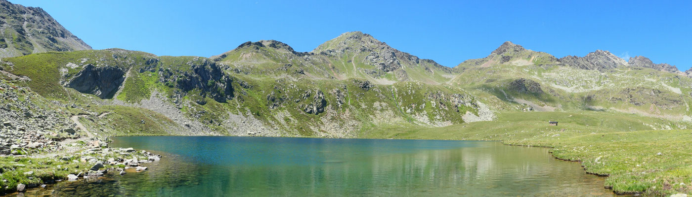 Lago di Malghera (fast schon Schweizer Grenze)