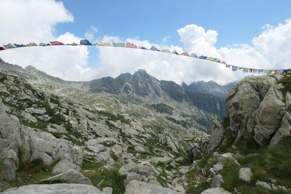Colle Lazoney - Richtung Südosten (Monte i Gemelli)