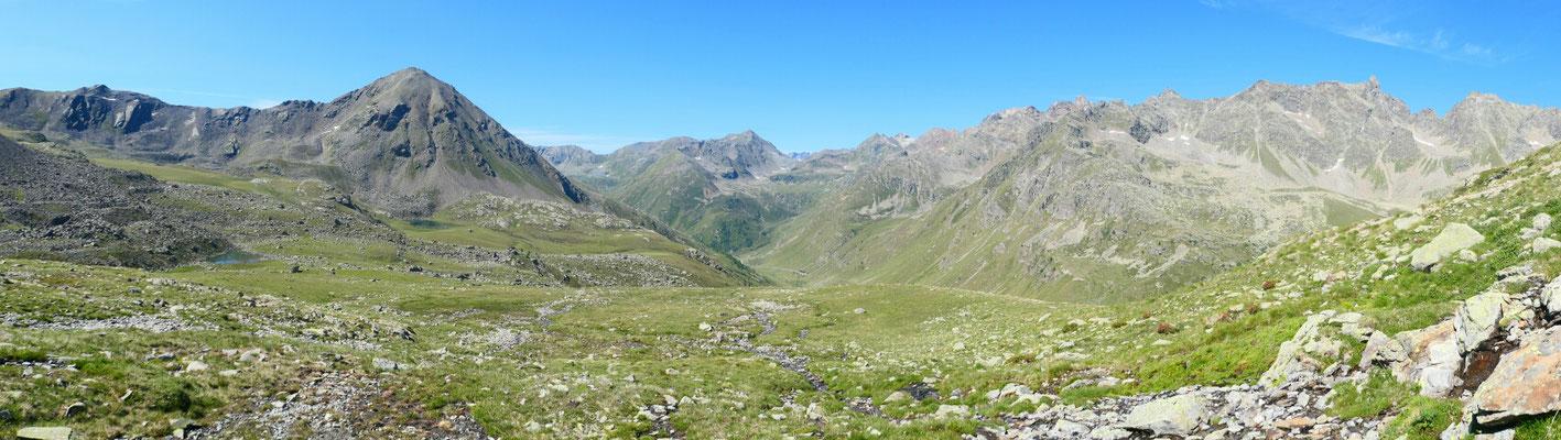 Blick ins Valle di Sacco