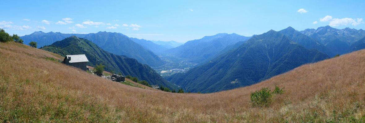 Alpe della Colma - Richtung Südosten