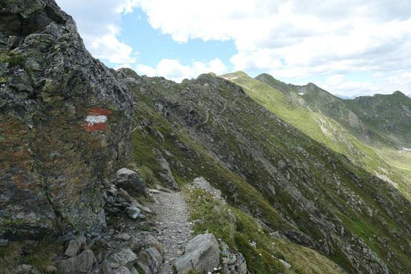 Aufstieg zum Steinkarspitz