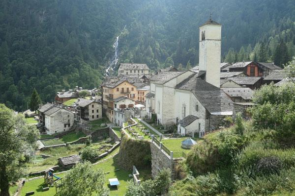 Walser Dorf Rima