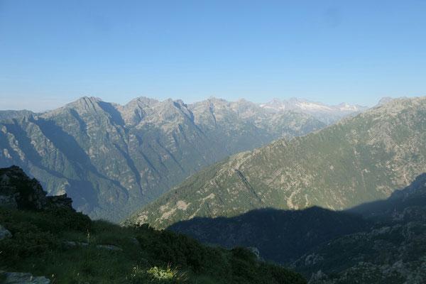 Alpe di Colla - Richtung Südwesten