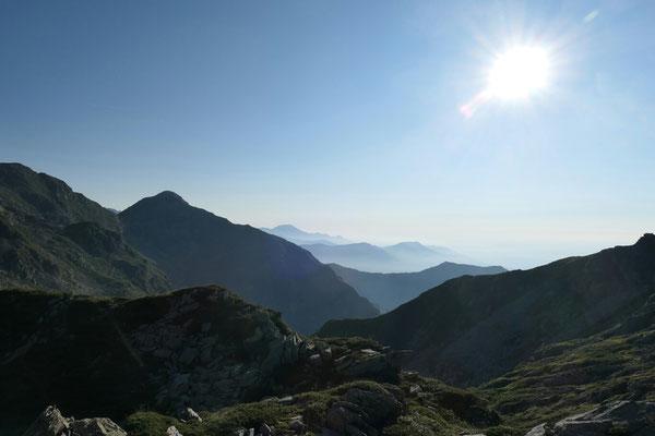Bocchetta del Lago - Richtung Osten