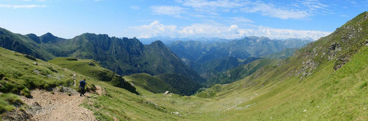 Bocchetta di Campello - Richtung Südwesten