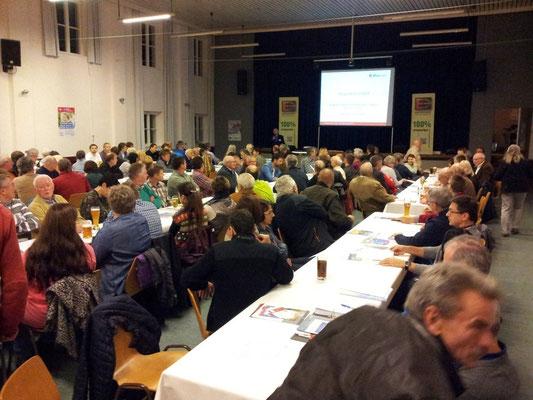 Voller Saal in Heideck: 230 Zuhörer sind für die Energiewende ...