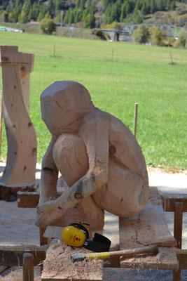 Holzskultpur anfertigen
