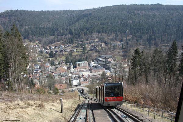 Fahrt mit der Sommerbergbahn Bad Wildbad