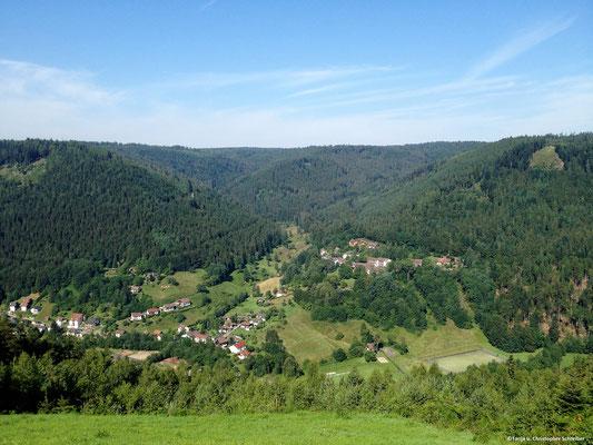 Gleitschirmfluggelände Kienhalde West Bad Wildbad