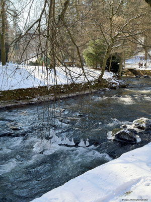 Kurpark Bad Wildbad im Winter