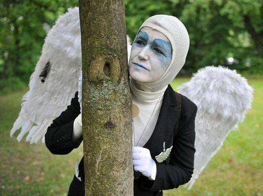 Engel auf Zeitreise - Hildesheimer Wallungen 2011. Foto: Andreas Hartmann