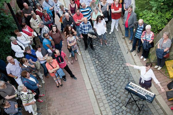 In der Altstadt. Hildesheimer Wallungen 2013. Foto: Alex Alfonso