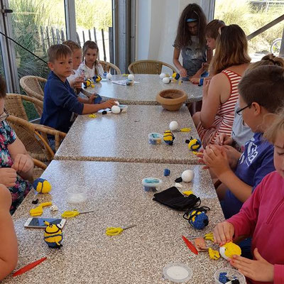 Workshop Foam Clayen van Minions