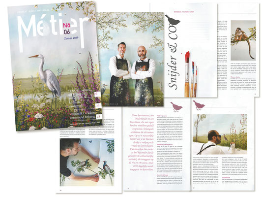 Metier Craft magazine june 19