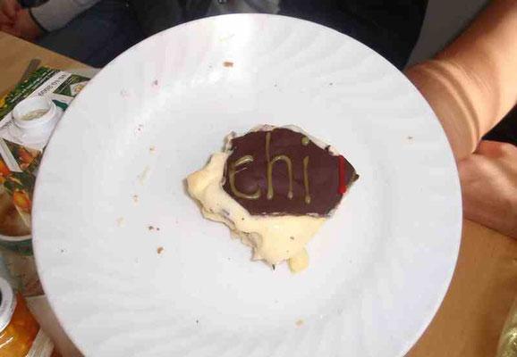 """""""CHI"""" ...das letzte Stück meines Geburtstagskuchens... und die Energie fließt weiter :-)"""