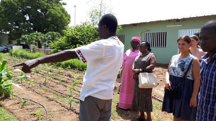 Im Oktober 2019 besuchten wir im Rahmen unserer Projektreise das Ausbildungszentrum RAVI in Ouagadougou.