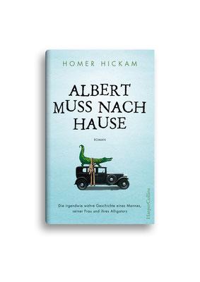 ALBERT MUSS NACH HAUSE // HarperCollins // ET: Juni 2016 // Auftraggeber: Hafen Werbeagentur, Illustration Alligator: Andrea D'Aquino