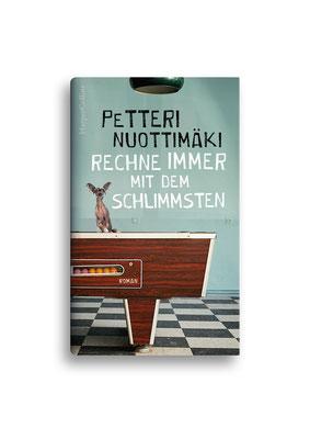 RECHNE IMMER MIT DEM SCHLIMMSTEN //  HarperCollins // ET: April 2017 // Auftraggeber: Hafen Werbeagentur