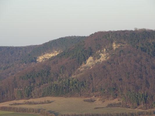 Bergsturz Schickeberg und Zehnuhrenklippen