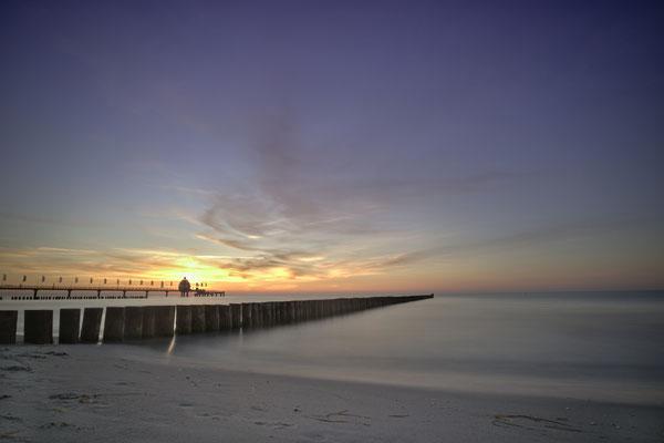 Zingst Sonnenuntergang Fischland Darß Sommer Sonne Ostsee Urlaub Strand Mecklenburg Vorpommern Heimatlicht Fineart Print Felix Lachmann Landschaft Fotografie