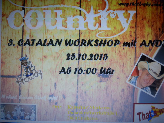 3. Catalan Workshop 25.10.2015