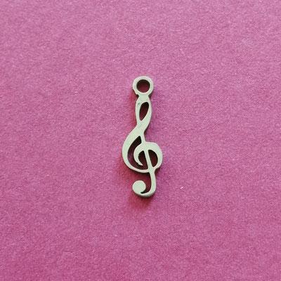 Notenschlüssel, Edelstahl, 8 mm