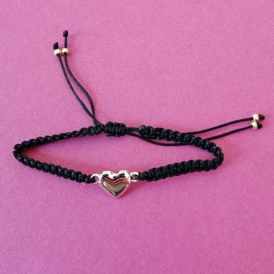 Flachknotenband, Schiebeverschluss