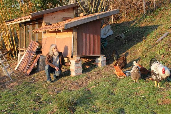 Der neue Enten+Hühnerstall