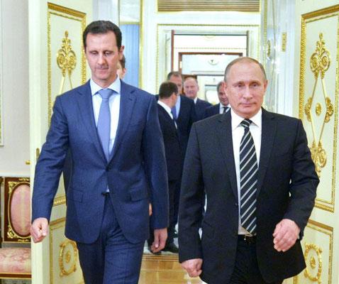 Assad und Putin - die Killer, die Aleppo auslöschen