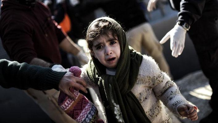 Nach Angaben der Internationalen Organisation für Migration (IOM) kamen seit Anfang des Jahres bereits 97.000 Flüchtlinge in Griechenland an. | Bildquelle: AFP