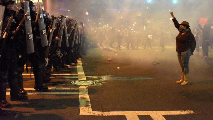 Proteste gegen tödliche Schüsse auf Schwarze
