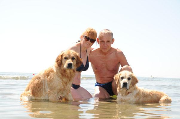 und schon sind die Ferien am Meer wieder zu ende...