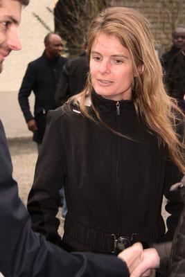 Birgit, Silvan's Cousine kam angereist aus den USA