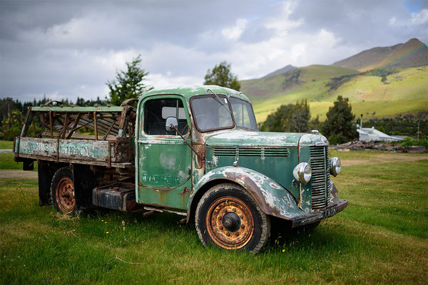 Oldtimer in Glenorchy