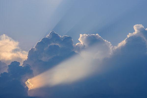 Himmel am 3.7. in Biedenkopf