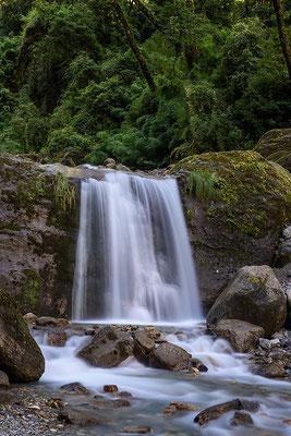 Wasserfall nahe Bargarchap